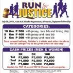 1st Prosecutors League of the Philippines – Open Fun Run