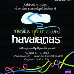 MYOH 2012 – Make Your Own Havaianas