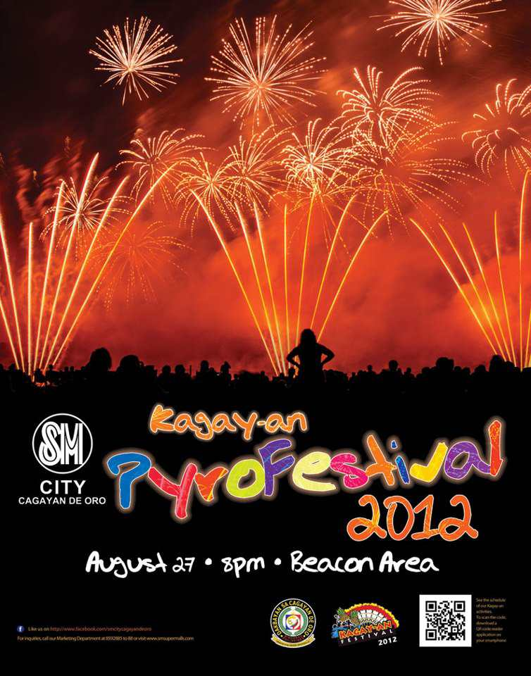 Kagay-an Pyro Festival 2012 at SM City on August 27