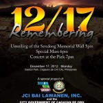 Remembering Sendong – the Memorial Wall