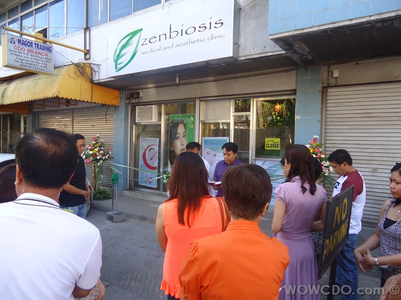 Zenbiosis opening and ribbon cutting last November 25, 2012.