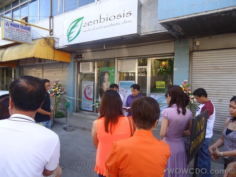 Zenbiosis opening and ribbon cutting last November 25, 2012.