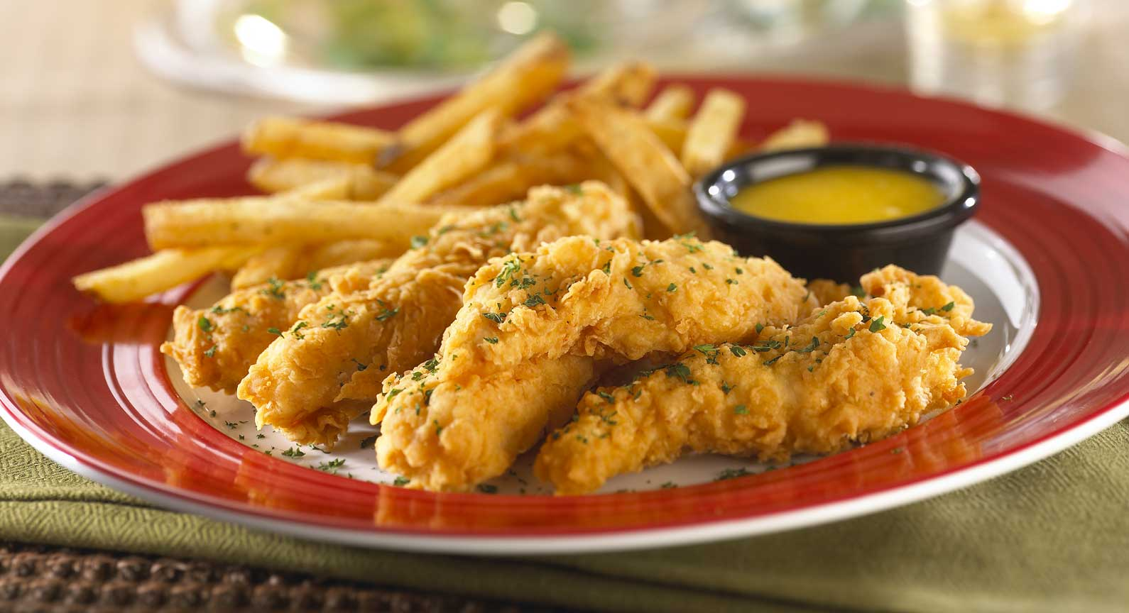 # 1 Favorite Chicken Fingers_Hand battered chicken tenders,