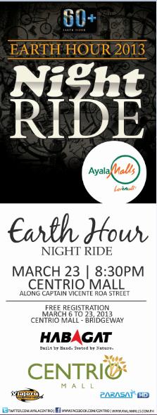 CENTRIO MALL_EARTH HOUR NIGHT RIDE
