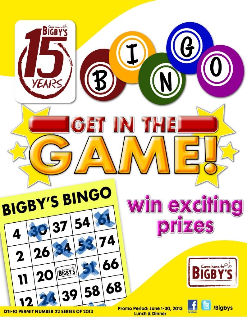 Bigbys Bingo