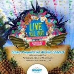 Smart Live All Out Concert Kagay-an Festival 2013