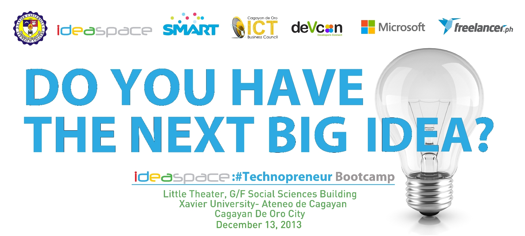IdeaSpace Brings Technopreneur Boot Camp at Northern Mindanao