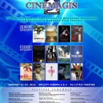 Cinemagis 7 Digital Short Film Festival Schedule of Activities #Cinemagis7