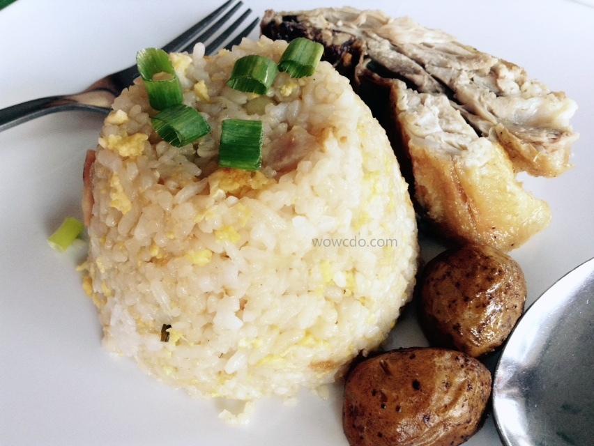 Ale Restaurant CDO Chicken plus rice