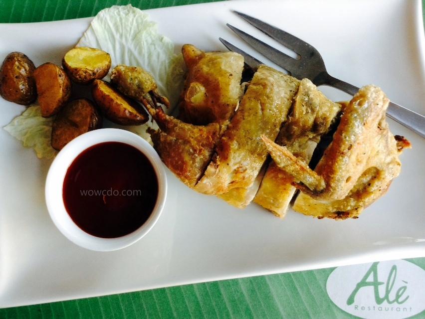 Ale Restaurant CDO Fried Chicken