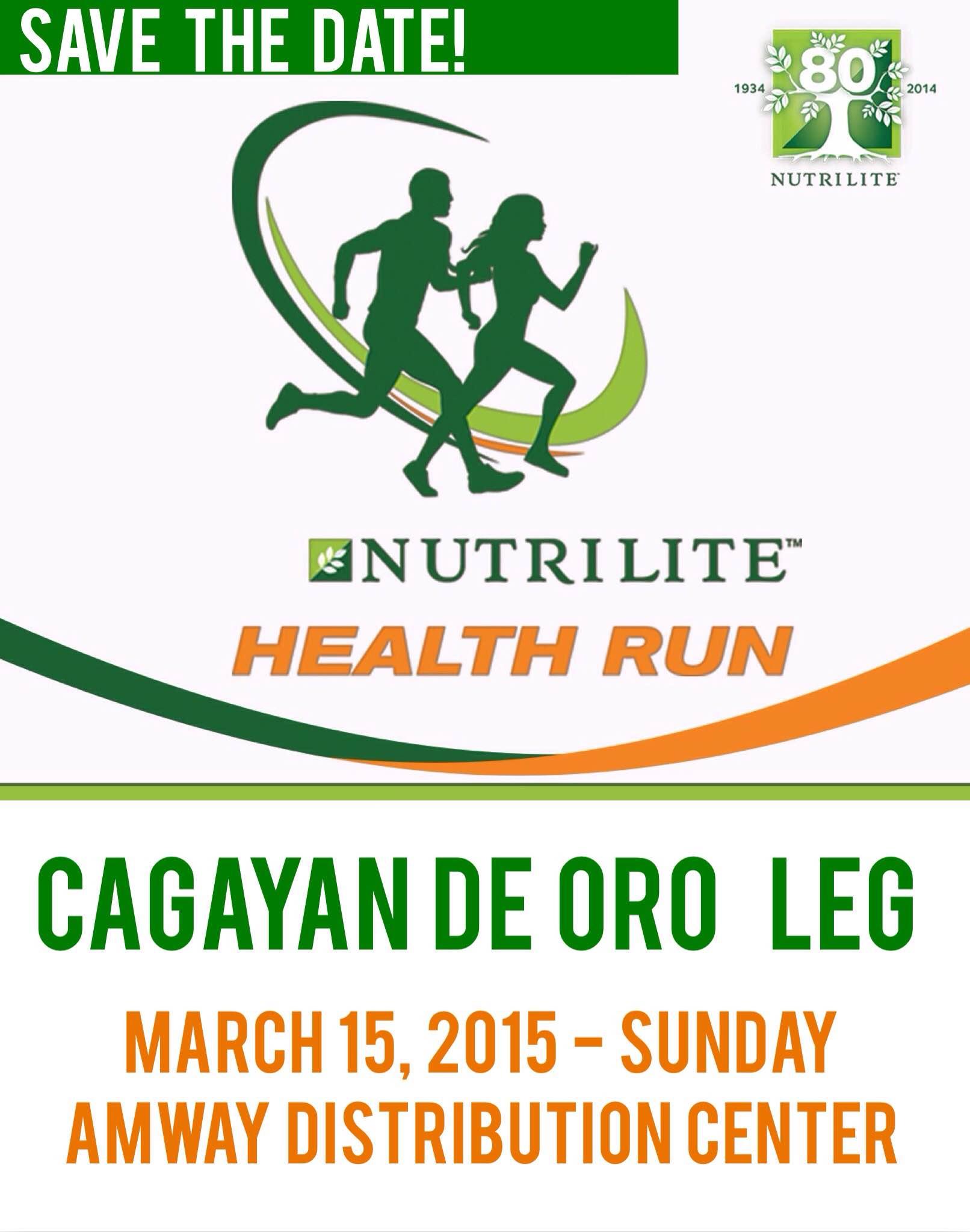 Amway Nutrilite Health Run 2015 in CDO