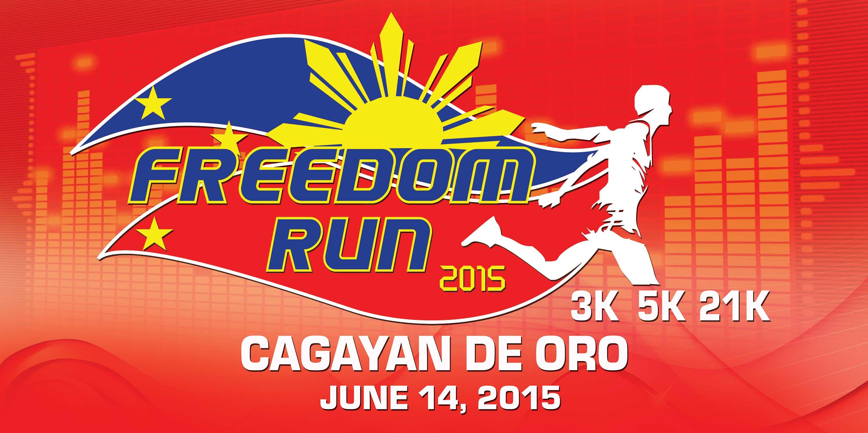freedom run 2015 - cagayan de oro