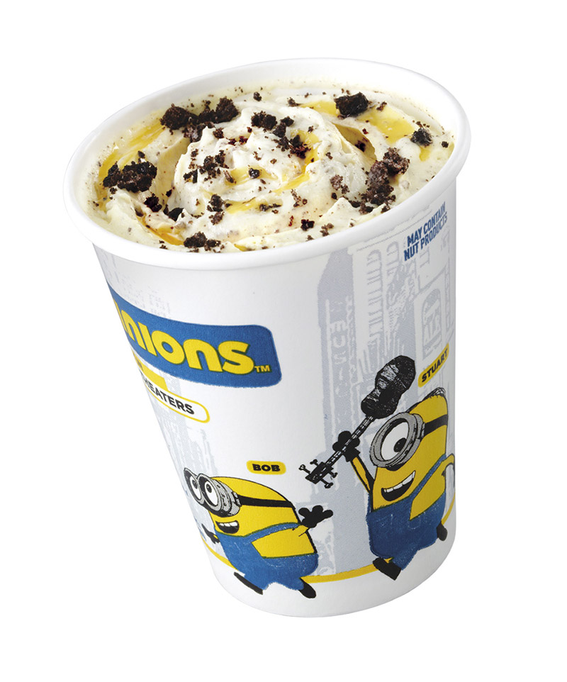 Banana McFlurry with Oreo