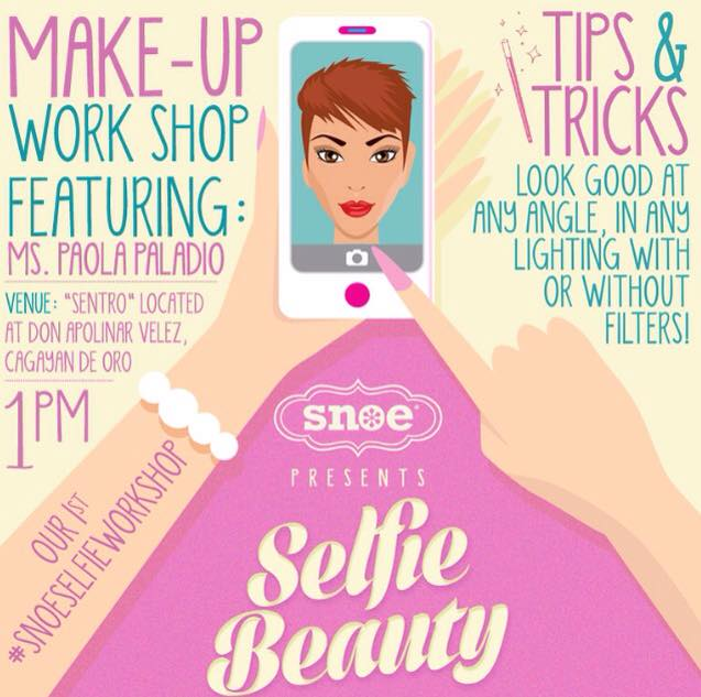 snoe-beauty-make-up-workshop-selfie-cdo