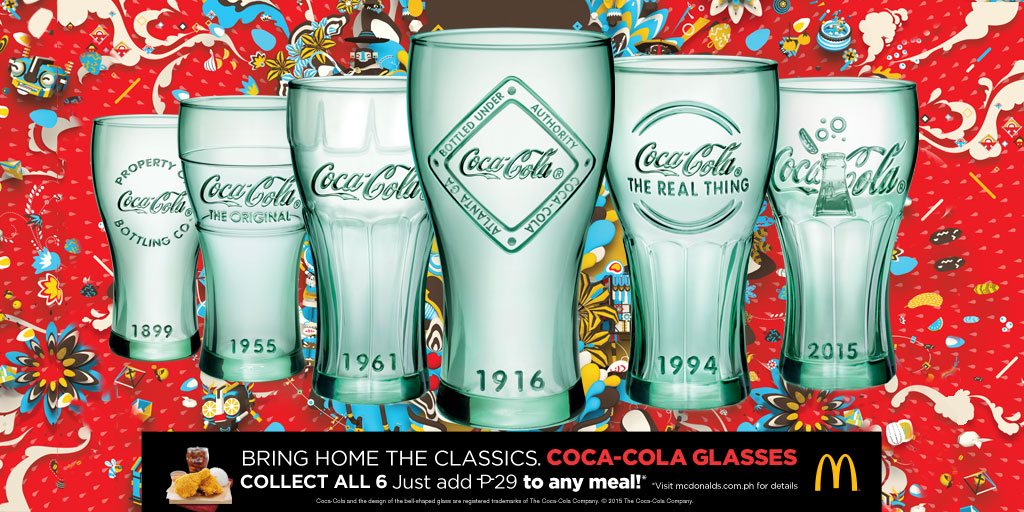 How to get the Coca-Cola Glasses