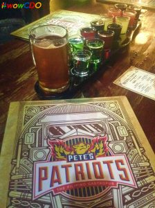Pete's Patriots launches Revolution 15 Shots and Lunch Meals