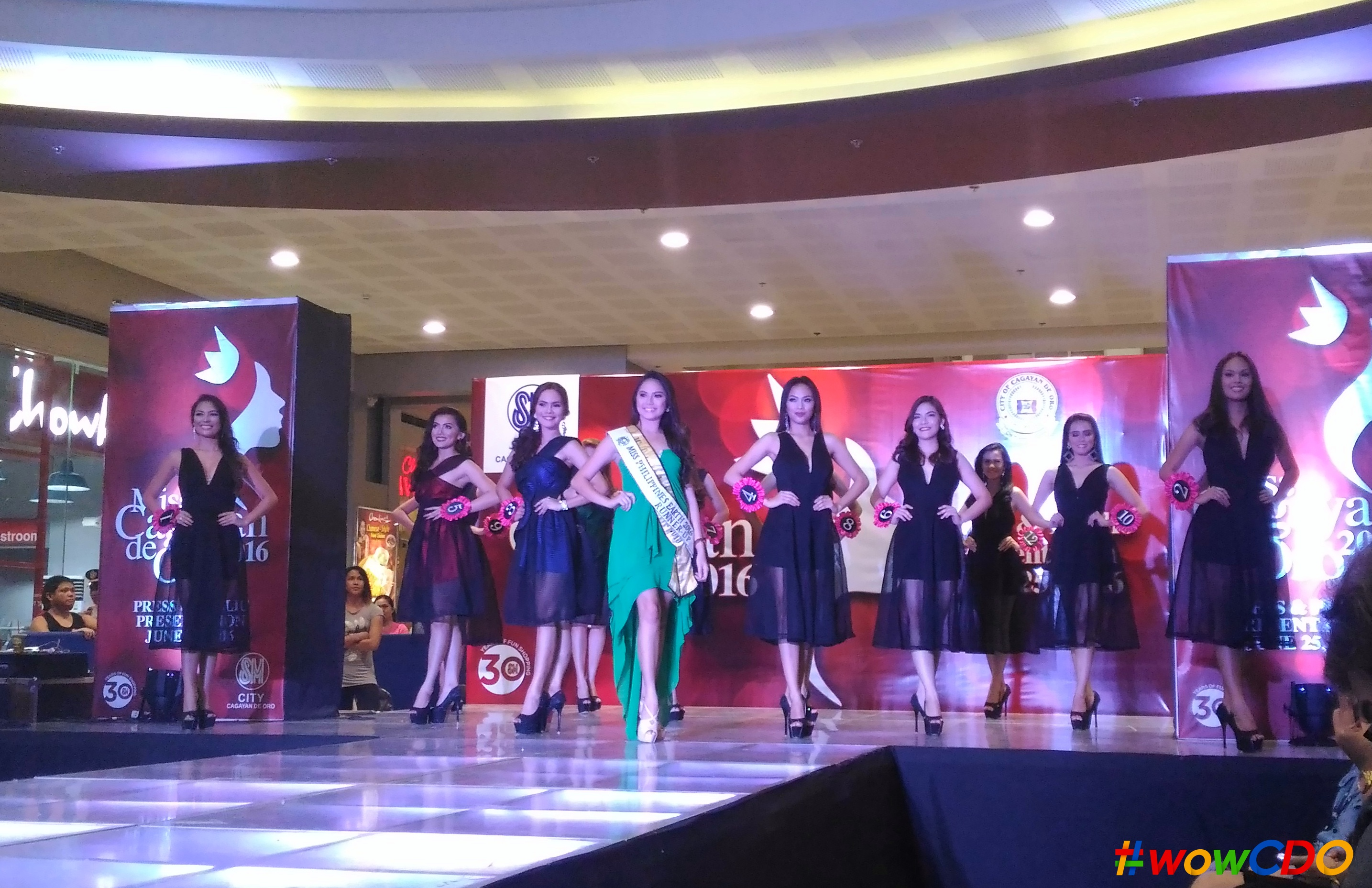 WATCH: Ms. Cagayan de Oro 2016 Press and Public Presentation