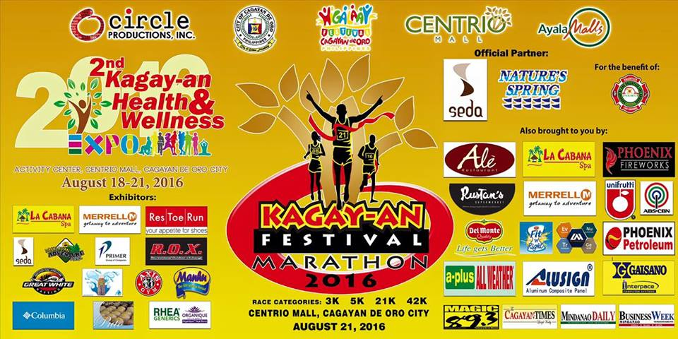 Kagay-an Festival Marathon 2016 set on August 21