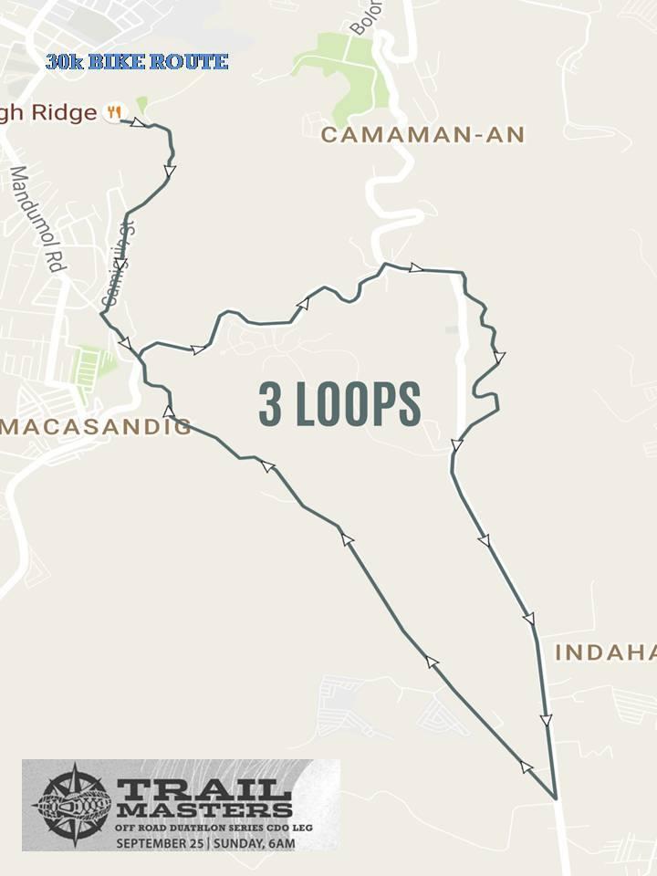 columbia-trail-master-duathlon-cdo-bike-route