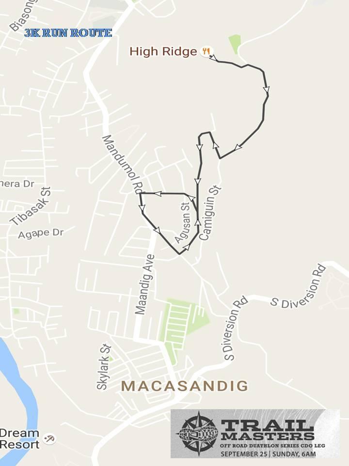 columbia-trail-master-duathlon-cdo-run-2-route