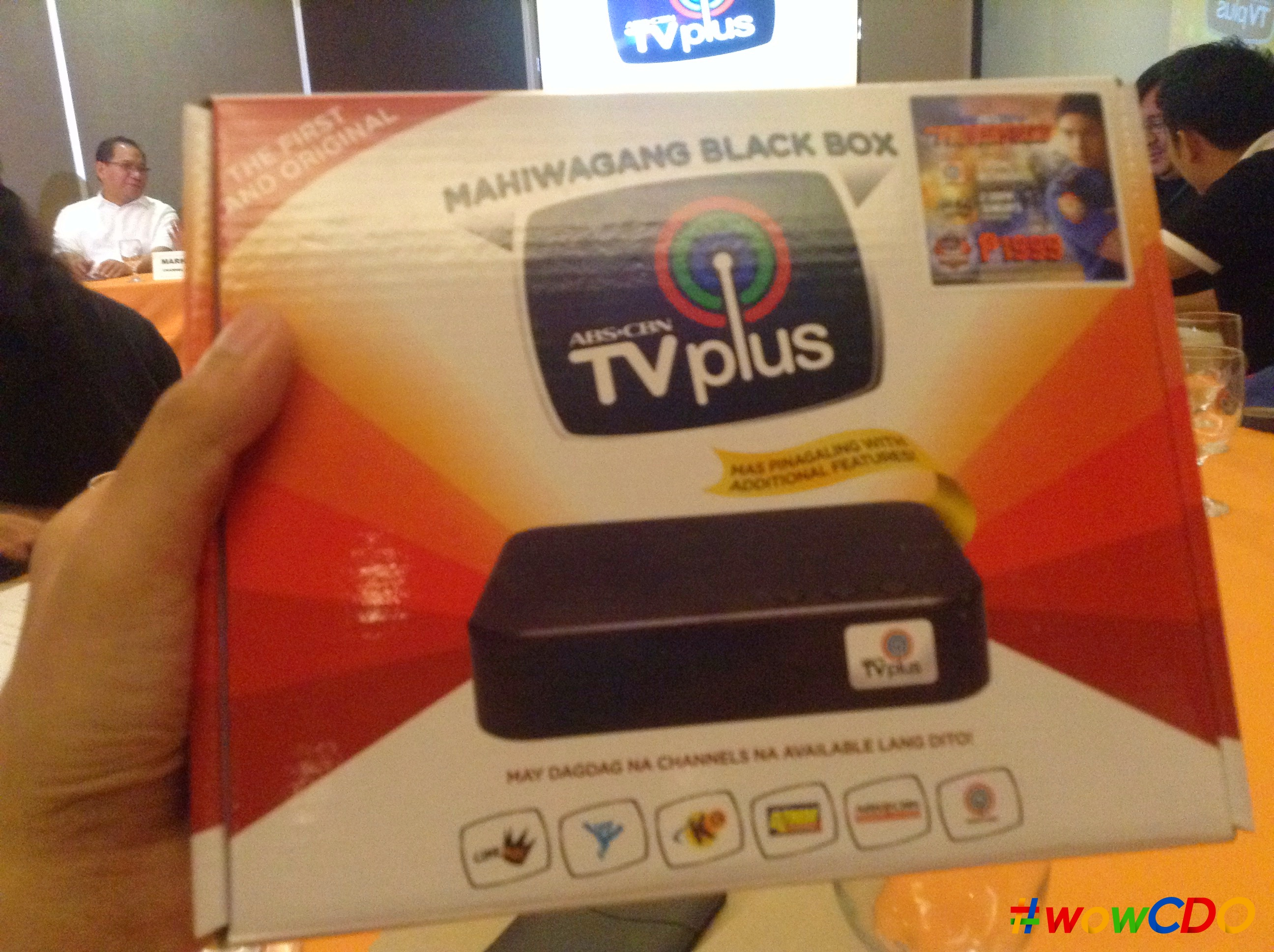 Experience Digital Tv With Abs Cbn Tvplus The Mahiwagang Black