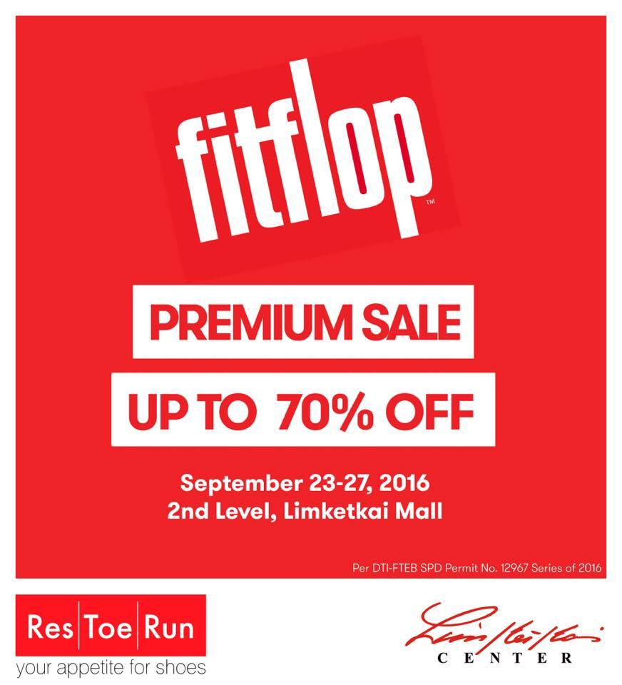 cbcd1b68f915 Fitflop Premium Sale set on Sep. 23-27 at Res